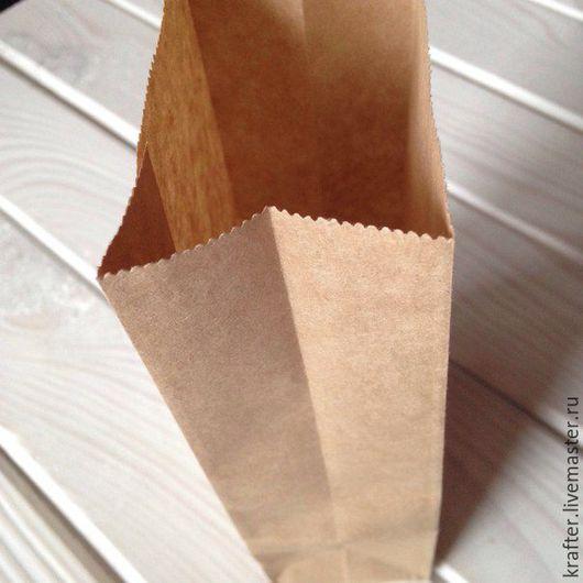 Упаковка ручной работы. Ярмарка Мастеров - ручная работа. Купить Крафт пакетик 17х8х5 (100шт). Handmade. Пакетик, упаковка для мыла