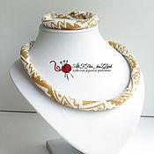 Украшения ручной работы. Ярмарка Мастеров - ручная работа Комплект из бисера Рыбы Перу. Handmade.