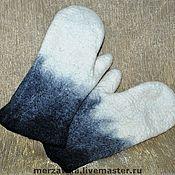 Аксессуары ручной работы. Ярмарка Мастеров - ручная работа Варежки мужские. Handmade.