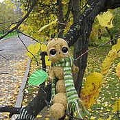 Куклы и игрушки ручной работы. Ярмарка Мастеров - ручная работа Последний зеленый лист.... Handmade.