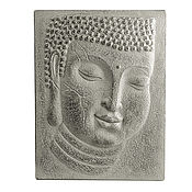 Картины и панно handmade. Livemaster - original item Panels Buddha, Buddha painting, Buddha portrait bas-relief of Buddha, the Buddha`s face. Handmade.