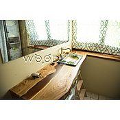 Столы ручной работы. Ярмарка Мастеров - ручная работа Столешница в ванную комнату с рекой. Handmade.