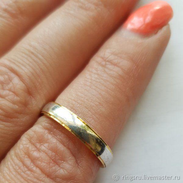 Свадебные украшения ручной работы. Ярмарка Мастеров - ручная работа. Купить Кольцо обручальное золото. Handmade. Золото, золотое кольцо