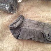 Косметика ручной работы handmade. Livemaster - original item Socks cotton. Handmade.