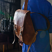 Backpacks handmade. Livemaster - original item Women`s urban backpack is a DODECAHEDRON. Handmade.