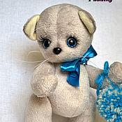 Куклы и игрушки ручной работы. Ярмарка Мастеров - ручная работа Котенок-тедди Тёма. Handmade.