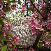 """Для дома и интерьера ручной работы. Ярмарка Мастеров - ручная работа Кашпо для цветов """"Весна""""подвесное. Handmade."""