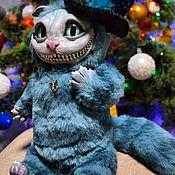 Мягкие игрушки ручной работы. Ярмарка Мастеров - ручная работа Чеширский кот игрушка Чешир кукла. Handmade.