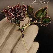 Украшения handmade. Livemaster - original item Gold-plated brooch