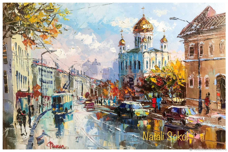 Храм Христа Спасителя в Москве ЯркийКрасочныйМир Natali Sokol