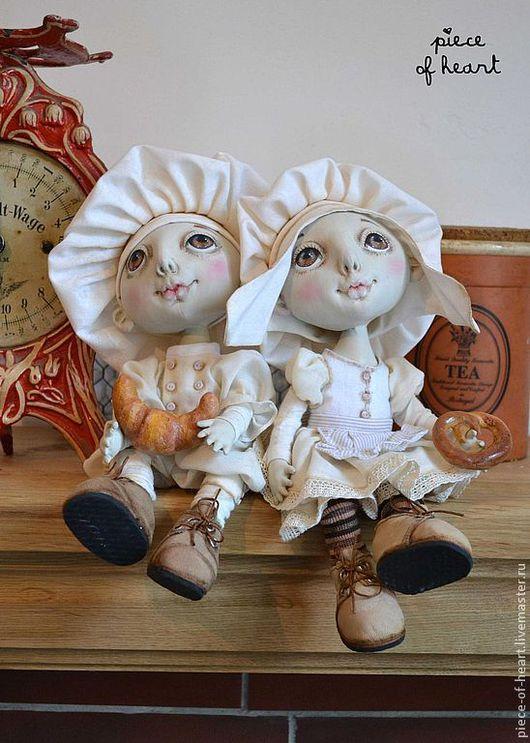 Коллекционные куклы ручной работы. Ярмарка Мастеров - ручная работа. Купить хранители кулинарных секретов...и ароматов домашних пирогов. Handmade.