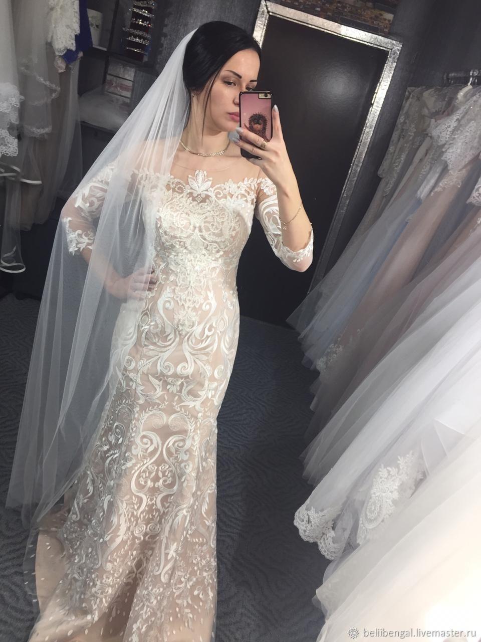 6461adb1067 Одежда и аксессуары ручной работы. Ярмарка Мастеров - ручная работа. Купить  Свадебное платье.
