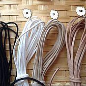 Материалы для творчества ручной работы. Ярмарка Мастеров - ручная работа шнур замшевый 15мм. Handmade.