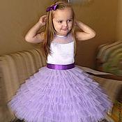 """Работы для детей, ручной работы. Ярмарка Мастеров - ручная работа Нарядное платье """"Алинка"""". Handmade."""