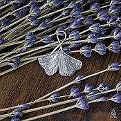 Украшения ручной работы. Ярмарка Мастеров - ручная работа Гинкго - кулон в виде листа дерева гинкго. Handmade.