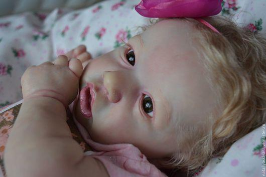 Куклы-младенцы и reborn ручной работы. Ярмарка Мастеров - ручная работа. Купить Кукла реборн Саския-2. Handmade. Бежевый
