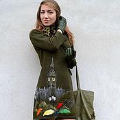"""Одежда ручной работы. Ярмарка Мастеров - ручная работа """" Лондонский дождь """". Handmade."""