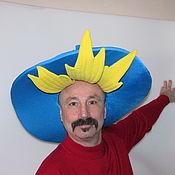 Одежда ручной работы. Ярмарка Мастеров - ручная работа шляпа Незнайки костюм для аниматора. Handmade.