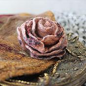 Украшения handmade. Livemaster - original item Little felt rose. Handmade.