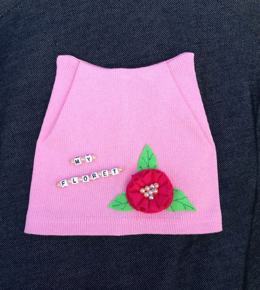 """Шапки и шарфы ручной работы. Ярмарка Мастеров - ручная работа. Купить Летняя шапочка """"Мой маленький цветочек"""". Handmade. бусины"""