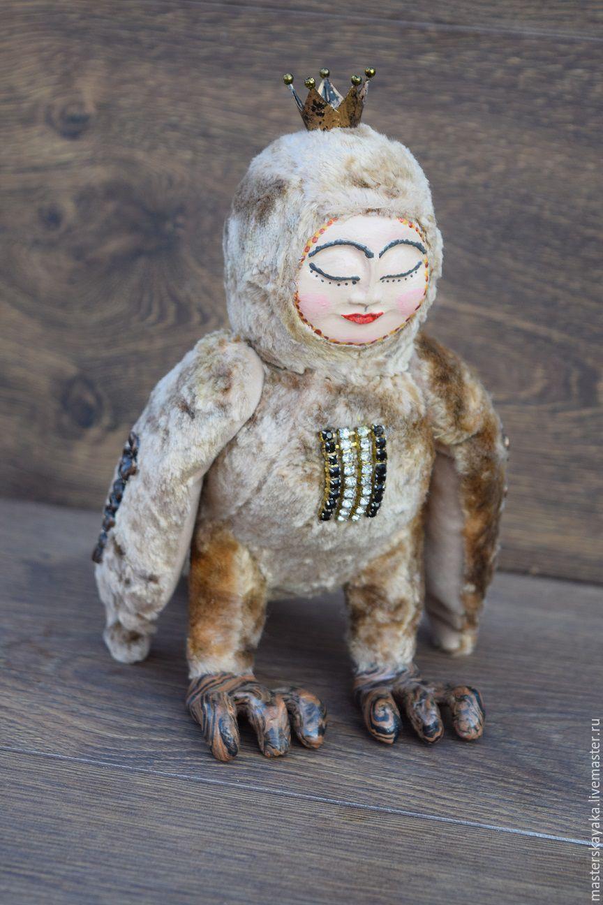 Mythical bird - Alkonost, Stuffed Toys, Kazan,  Фото №1