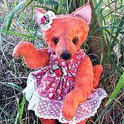Куклы и игрушки handmade. Livemaster - original item Fox Teddy.. Handmade.