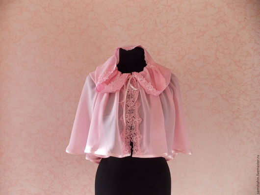 Шали, палантины ручной работы. Ярмарка Мастеров - ручная работа. Купить Платок  в храм Розовая дымка. Handmade. Розовый