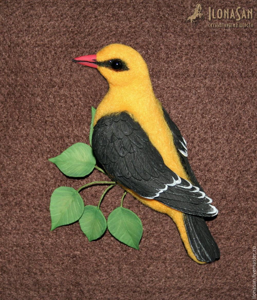 Иволга (птица брошь), Брошь-булавка, Владивосток,  Фото №1