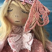 Куклы и игрушки ручной работы. Ярмарка Мастеров - ручная работа Ксения Весна кукла текстильная. Handmade.