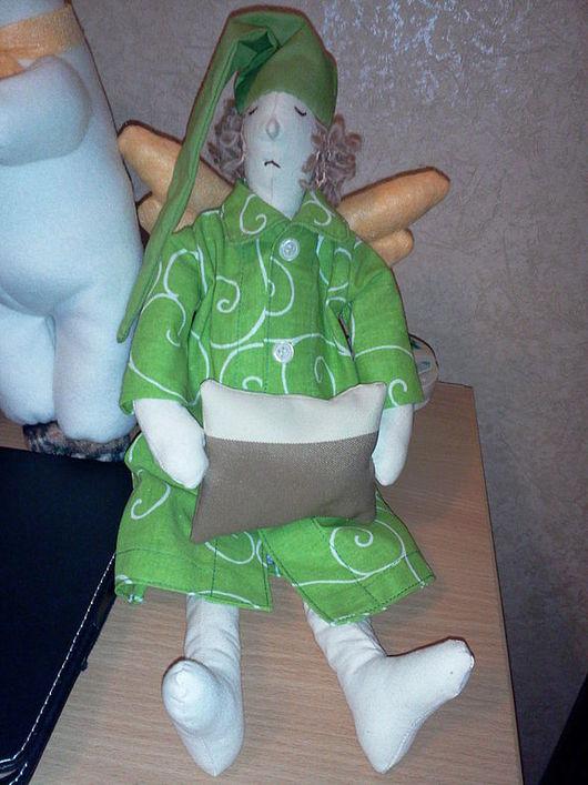Куклы Тильды ручной работы. Ярмарка Мастеров - ручная работа. Купить Спящие ангелы. Handmade. Ангелы, сон, флис