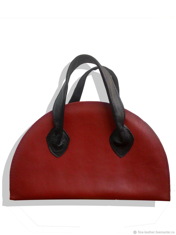 Кожаная сумка ручной работы, Классическая сумка, Симферополь,  Фото №1