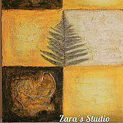 """Картины и панно ручной работы. Ярмарка Мастеров - ручная работа Декоративное панно """"Порядок мыслей"""". Handmade."""