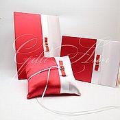 Свадебный салон ручной работы. Ярмарка Мастеров - ручная работа Комплект свадебных аксессуаров Red Magic. Handmade.