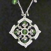 Украшения handmade. Livemaster - original item Beaded jewelry Pendant from beads Boho style. Handmade.