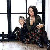 Юбки для мамы и дочки (Family-look)