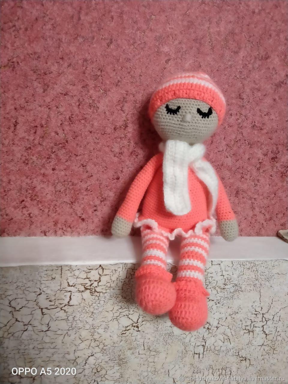 """Вязанная игрушка """"Кукла сплюшка Сонька"""", Мягкие игрушки, Верховье,  Фото №1"""
