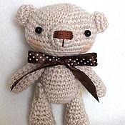 Куклы и игрушки ручной работы. Ярмарка Мастеров - ручная работа Мишка Крем с Шоколадом. Handmade.