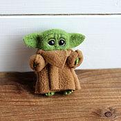 Куклы и игрушки handmade. Livemaster - original item Baby Yoda Brooch. Handmade.