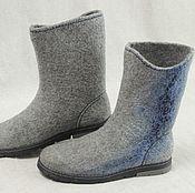 Обувь ручной работы. Ярмарка Мастеров - ручная работа Сапоги валяные зимние. Handmade.