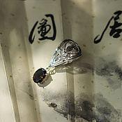 Украшения ручной работы. Ярмарка Мастеров - ручная работа Серебряный кулон   с раухтопазом. Handmade.