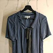 Одежда ручной работы. Ярмарка Мастеров - ручная работа -40%. Платье свободного фасона с шарфиком. Handmade.
