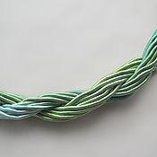 Материалы для творчества handmade. Livemaster - original item Thick viscose cord (no. №18), price per 1 meter. Handmade.