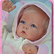 Куклы Reborn ручной работы. Ярмарка Мастеров - ручная работа ЕСЕНИЯ (молд Luca от  Elly Knoops). Handmade.