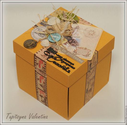 Персональные подарки ручной работы. Ярмарка Мастеров - ручная работа. Купить MagicBox Travel. Handmade. Рыжий, подарок