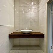 Для дома и интерьера handmade. Livemaster - original item Suspended countertop under the sink (project Ivanovo region, d. Dyakovo). Handmade.