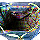 Джинсовый бохо рюкзак `Травяной коктейль`. Сумки, рюкзаки ручной работы. Handmade. Автор Petrakova Zhanna Atelier Moscow.