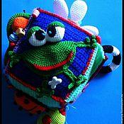 Куклы и игрушки ручной работы. Ярмарка Мастеров - ручная работа Кубик-погремушка № 2.. Handmade.