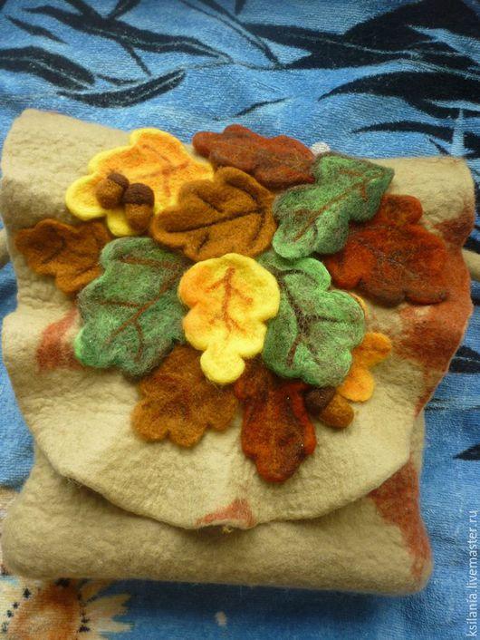 Женские сумки ручной работы. Ярмарка Мастеров - ручная работа. Купить Осенний листопад. Handmade. Разноцветный, осень