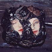 """Куклы и игрушки ручной работы. Ярмарка Мастеров - ручная работа Музыкальная шкатулка """"Ночь"""". Handmade."""