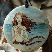"""Украшения ручной работы. Ярмарка Мастеров - ручная работа Кулон """"Море для Марии"""". Handmade."""